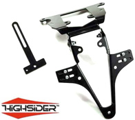 Kawasaki Z750 07~on Z750R 11~on Highsider Tail Tidy Plate Bracket