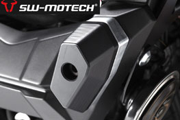 Kawasaki Z800 2012 onwards SW Motech Frame Slider Kit