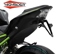 Kawasaki Z900 2017 onwards Highsider Tail Tidy Plate Bracket