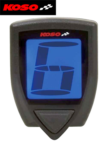 Lightweight Motorcycle Helmet >> Bikermart: Koso Gear Indicator for Digital Signals, KOSO ...