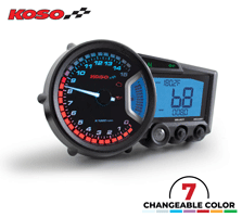 Koso RX2 GP Style Multifunction Motorcycle Dash Speedometer