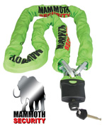 Mammoth 1800mm Motorbike Scooter Chain Lock