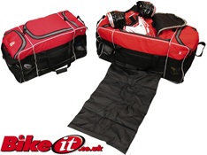 BikeIt Jumbo XLarge 130 Litre Motorbike Kit and Helmet Bag
