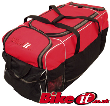 BikeIt Midi 90 Litre Motorbike Kit Bag with Carry Handle
