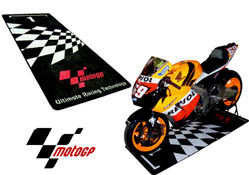 MotoGP Motorbike Garage Workshop or Pit Mat