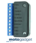 Motogadget Breakout Box A for the Motoscope Pro Dash