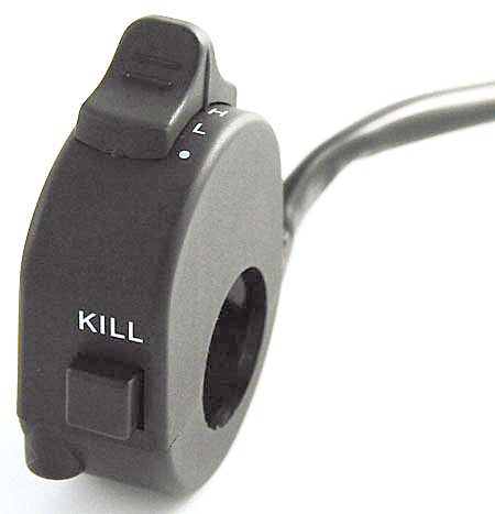 Bikermart: Motorbike 3 Position Light and Kill Switch, HANDLEBAR ...