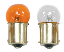 Motorcycle BA15S Indicator Light Bulbs 12v 23w or 10w Amber or Clear