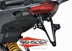 Ducati Multistrada 1200 2010~14 Highsider Number Plate Bracket