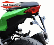 Kawasaki Ninja 300 2013~17 Highsider Tail Tidy Number Plate Bracket