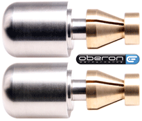 Oberon Performance CNC Stainless Steel Heavy Universal Motorcycle Bar End Weights