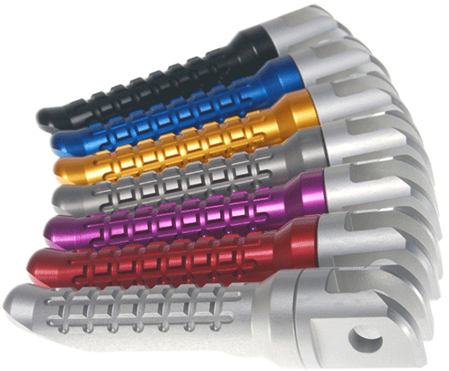 Oberon Performance CNC Racing Rear Footpegs