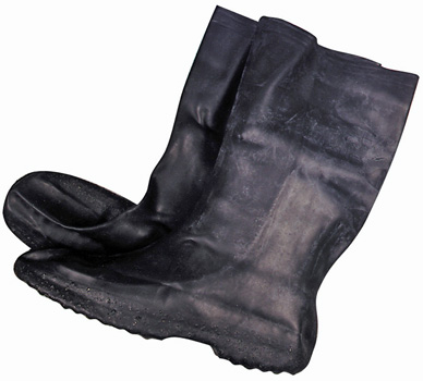 Bikermart Waterproof Moulded Rubber Motorbike Overboots