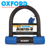 Oxford Alarm~D Scoot High Security Alarmed Scooter Moped U~Lock