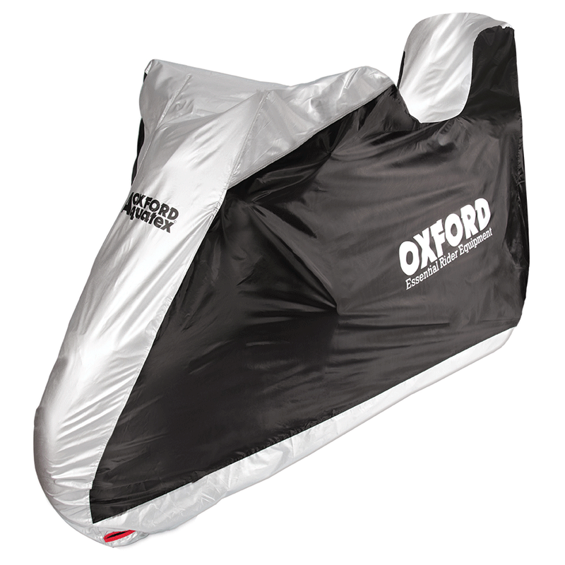 Oxford Aquatex Motorcycle & Scooter Rain Cover with Top Box Cover