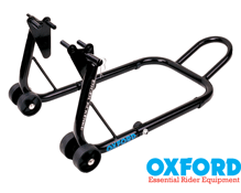 Oxford Big Black Front Motorbike Trackday Paddock Stand