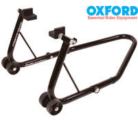 Oxford Big Black Rear Motorbike Trackday Paddock Stand