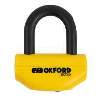Oxford Boss Super Strong Motorbike Disc Lock 12.7mm, 14mm or 16mm Shackle