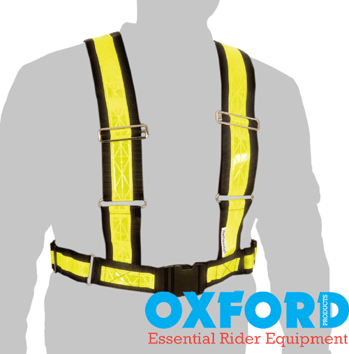 Oxford Motorbike or Cycle Reflective 'H' Belt