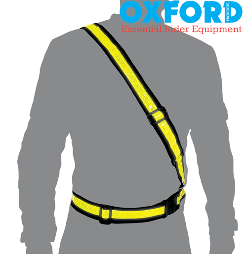 Oxford Motorcycle or Cyclist Reflective Bright Belt