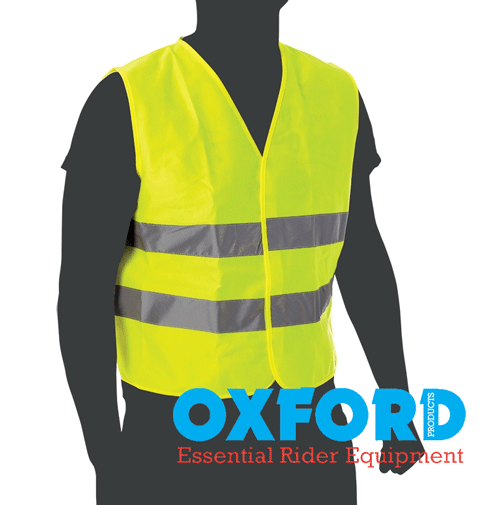 Oxford Bright Reflective Motorbike High Visibility Vest