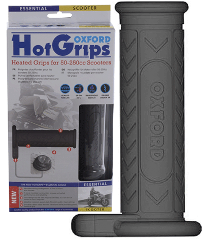 Oxford Essential Hotgrips Scooter Heated Handlebar Grips