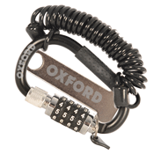 Oxford LidLock Combination Carabiner Helmet Lock