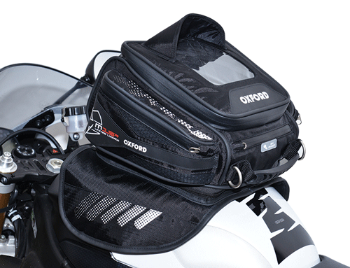 Oxford Lifetime M15R Magnetic Motorcycle Tank Bag ~ 15 Litre