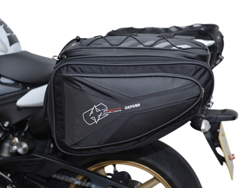 Oxford Lifetime P60R Large Motorcycle Touring Panniers 60 Litres