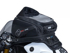 Oxford Lifetime S30R Strap~On Motorcycle Tank Bag ~ 30 Litre