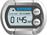 Oxford Micro Waterproof Digital Motorbike Clock Temperature Gauge