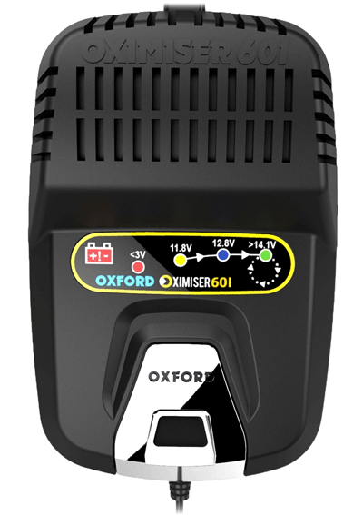 Oxford Oximiser 601 Essential Motorbike Battery Optimiser and Charger