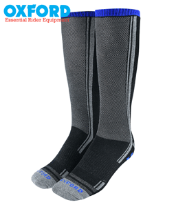 Oxford OxSocks CoolMax Moisture Wicking Motorcycle Socks