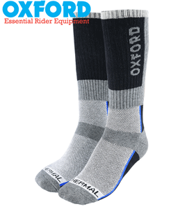Oxford OxSocks Thermal Long or Regular Motorcycle Socks