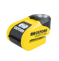 Oxford Quartz XA6 6mm Alarm Motorcycle & Scooter Disk Lock