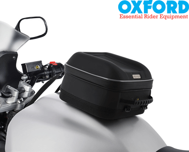 Oxford S~Series Q4s Semi~Rigid Quick Release Motorcycle Tank Bag ~ 4 Litres