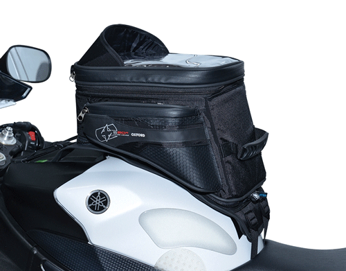 Oxford Lifetime S20R Adventure Strap On Motorcycle Tank Bag~ 20 Litres