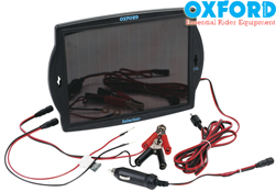 Oxford Solariser Solar Motorcycle Battery Optimiser Charger