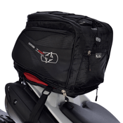 Oxford Lifetime T25R Motorcycle Tail Pack and Deluxe Helmet Carrier