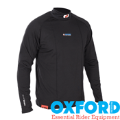 Oxford WarmDry Mens Thermal High Neck Top Base Layer
