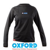 Oxford WarmDry Ladies Thermal Long Sleeve Top Base Layer