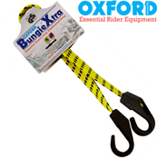 Oxford Bungie Xtra Elasticated Flat Motorcycle Straps