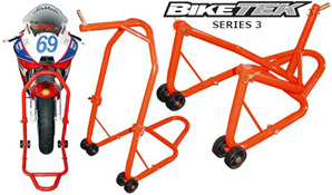 Biketek Front Motorbike Head Stand and 5 Pins