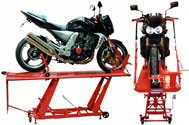 BikeTek Hydraulic Motorcycle Workshop Table Lift