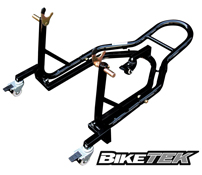 BikeTek 360 Degree Rear Floating Motorcycle Paddock Stand Mover