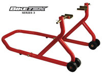 BikeTek Trackday Race Motorcycle Paddock Stand Rear