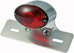 BikeIt Cateye Rear Motorcycle Stop and tail Lamp with Hanger