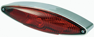 BikeIt Street Motorcycle Stop and Tail Lamp