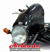 Airblade Bubble Motorcycle Streetfighter Fly Screen