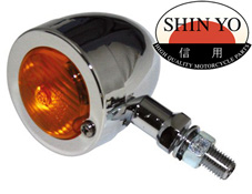 Shin Yo Bullet Flat Lens Custom Motorcycle Indicators